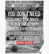 Workout Motivational Poster