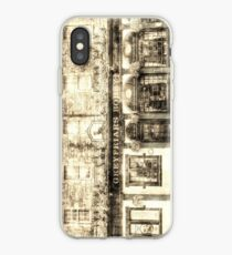 Greyfriars Bobby Pub Edinburgh Weinlese iPhone-Hülle & Cover