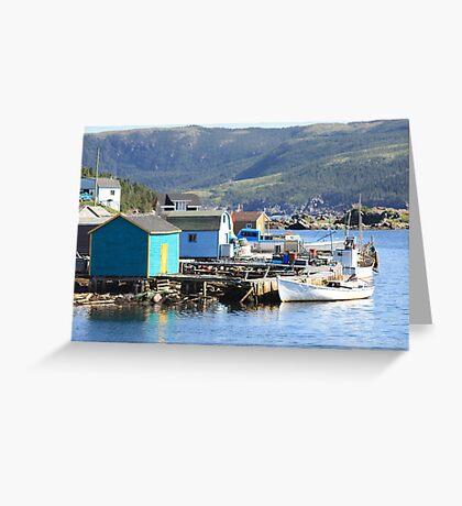 Stages Of Fleur De Lys  Harbor Greeting Card