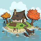 Island Home by Martin Dubravický