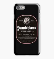Samichlaus Beer iPhone Case/Skin