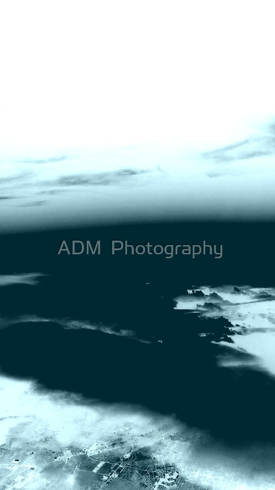 x-ray clouds by Amber D Hathaway Photography
