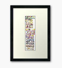 Rainbow of Roger Framed Print