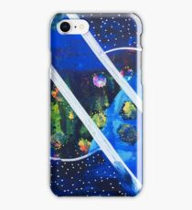 Straddling the Worlds: Inner Power Painting iPhone Case/Skin