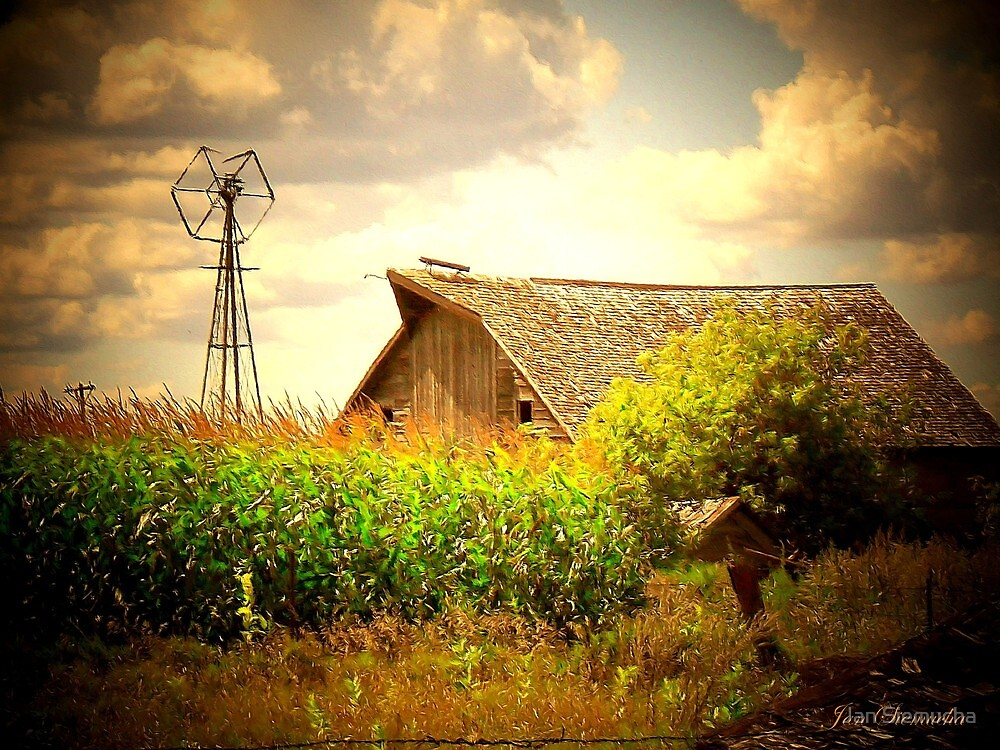 Grand Old Barn ! by Jan Siemucha