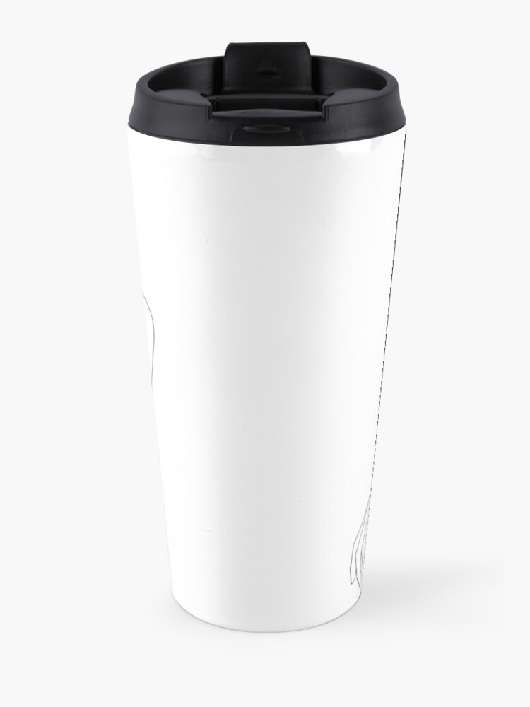 Alternate view of Folded arms line drawing - Anna Travel Mug