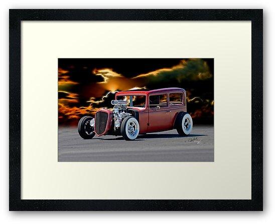 1935 Chevrolet 'Hot Rod' Sedan by DaveKoontz
