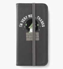 Very Well Thanks iPhone Wallet/Case/Skin