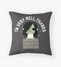 Very Well Thanks Throw Pillow