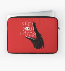 See You Later, Alligator Laptop Sleeve