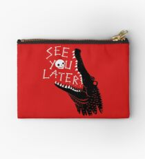 See You Later, Alligator Zipper Pouch
