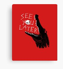 See You Later, Alligator Canvas Print