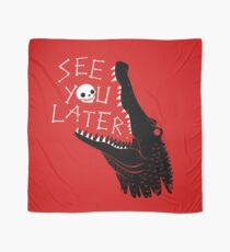 See You Later, Alligator Scarf
