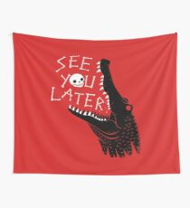 See You Later, Alligator Wall Tapestry