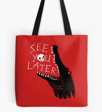 See You Later, Alligator Tote Bag