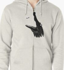 See You Later, Alligator Zipped Hoodie