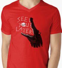 See You Later, Alligator V-Neck T-Shirt