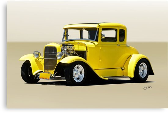 1930 Ford Model A Coupe by DaveKoontz