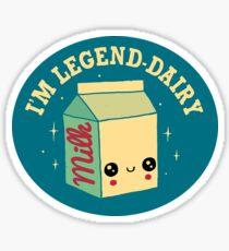 Legend-Dairy Sticker