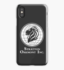 The Wolf of Wall Street Stratton Oakmont Inc. Scorsese (in white) iPhone Case