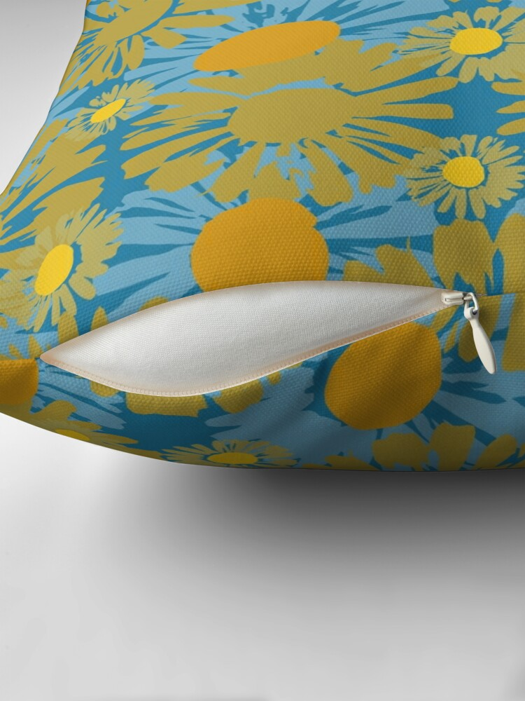 Alternate view of Pop Polka Daisies Floor Pillow