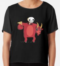 Mascot From Hell Chiffon Top