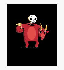 Mascot From Hell Photographic Print