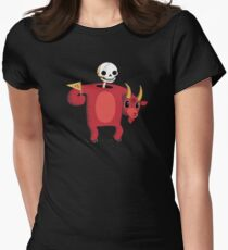 Mascot From Hell Fitted T-Shirt