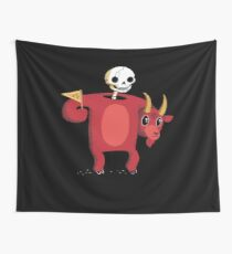 Mascot From Hell Wall Tapestry