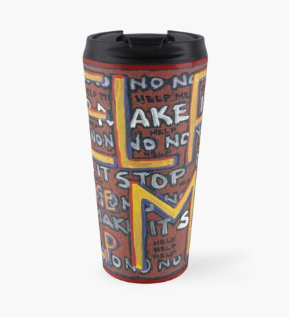 HELP ME - God, Help Me! - Brianna Keeper Painting Travel Mug