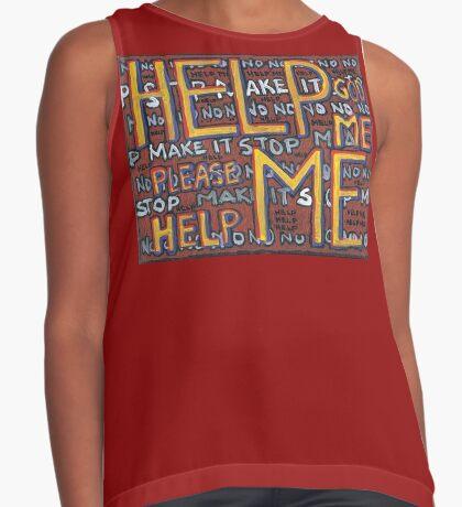 HELP ME - God, Help Me! - Brianna Keeper Painting Sleeveless Top