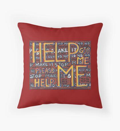 HELP ME - God, Help Me! - Brianna Keeper Painting Floor Pillow