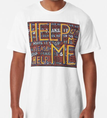 HELP ME - God, Help Me! - Brianna Keeper Painting Long T-Shirt