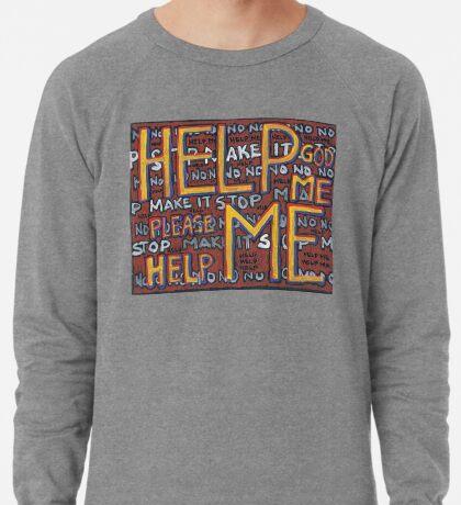 HELP ME - God, Help Me! - Brianna Keeper Painting Lightweight Sweatshirt