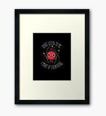 Never Trust An Atom Framed Print