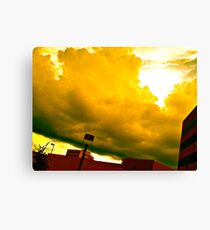 The Sky Never Forgets Us Canvas Print