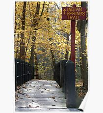 Indian Springs Trail Poster