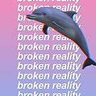 broken reality Phone Case by thomasesmith