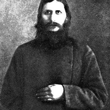 Grigori Rasputin with Cyrillic Alphabet Spelling by nico37