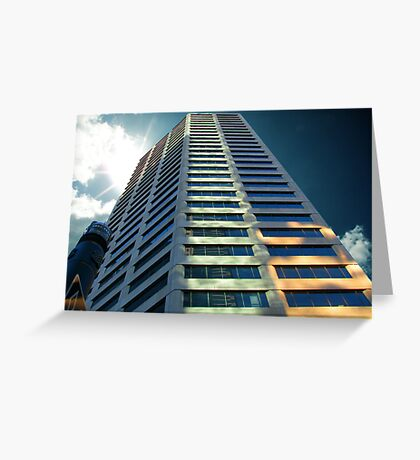 Cityscapes - Monolith Greeting Card