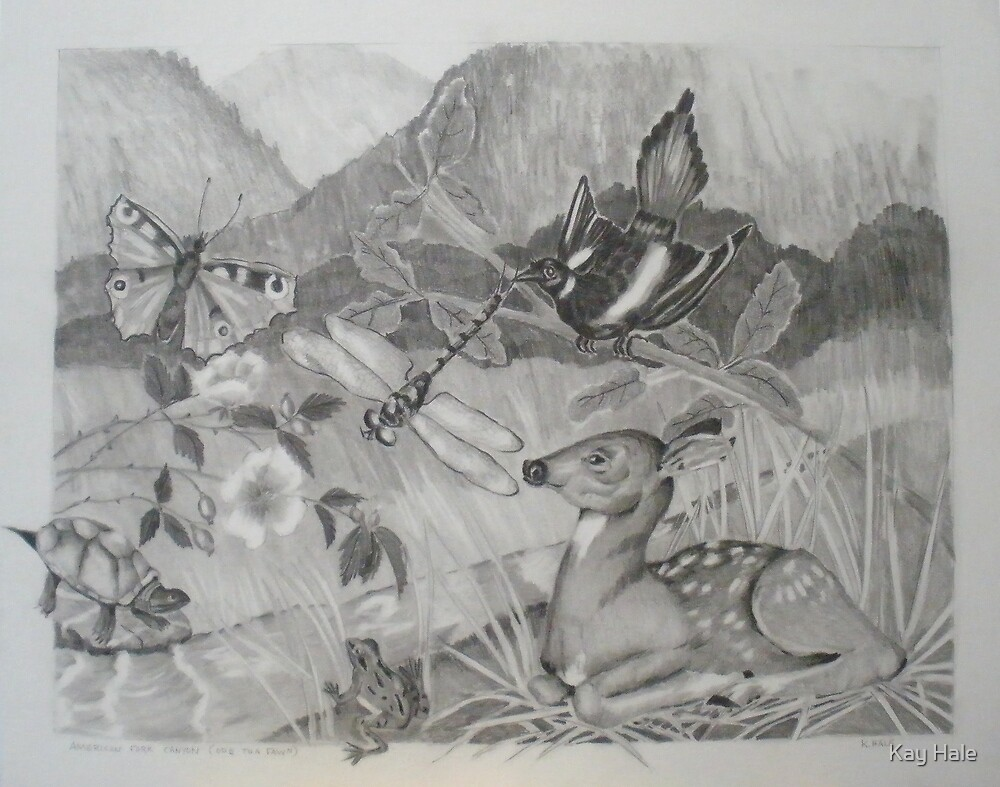 American Fork Canyon (Ode To A Fawn) by Kay Hale