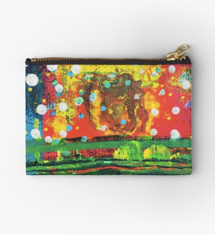 Attuned - Core Feeling : Inner Power Painting Studio Pouch