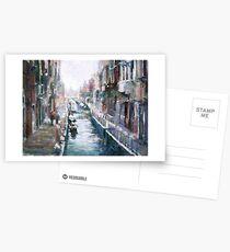 Venise ,apres la pluie Postcards