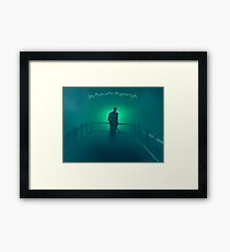 The Great Gatsby - He believed in the green light Framed Print