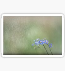 Forget Me Not in the Rain Sticker