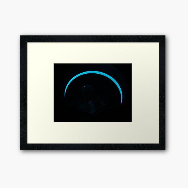 Inner-City Eclipse Framed Art Print