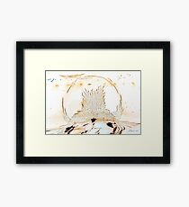 Water Globe Framed Print