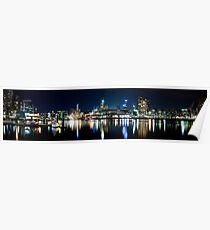 Docklands Panorama - Melbourne Poster