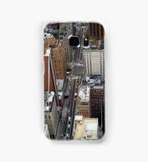 New York City Streetscape Samsung Galaxy Case/Skin