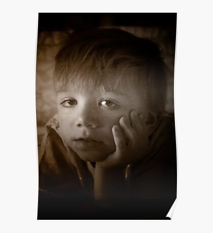 The Contemplative Toddler Poster